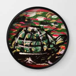 Turtle Power Wall Clock