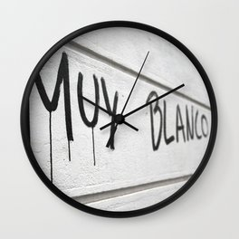 Blank Slate Wall Clock
