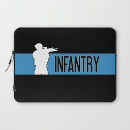 Infantry Blue Laptop Sleeve