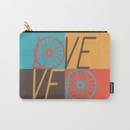 Love velo - velo love; cycling design Carry-All Pouch
