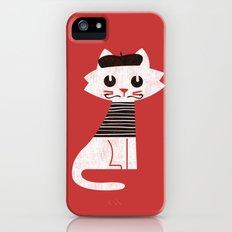 Mark the cat goes to Paris Slim Case iPhone (5, 5s)