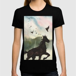 Mane of Blackbirds T-shirt