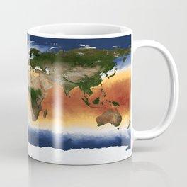 A Portrait of Global Sea Surface Temperatures Coffee Mug
