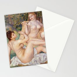 Les Grandes Baigneuses (The Large Bathers) by Auguste Renoir Stationery Cards