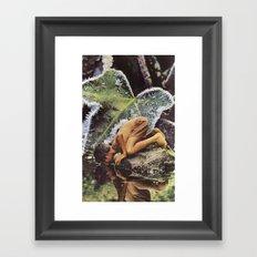 Reflective Frames Framed Art Print