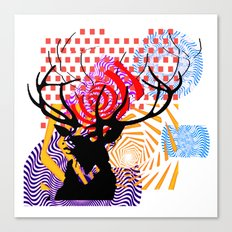Mrs Stag Canvas Print