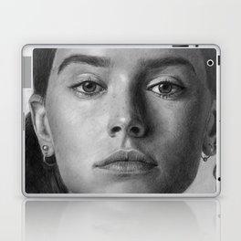 Daisy Ridley Portrait Laptop & iPad Skin