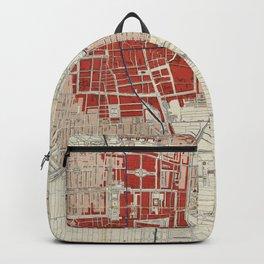 The Hague Netherlands Vintage Map (1840) Backpack