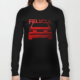 Skoda Felicia - classic red - Long Sleeve T-shirt