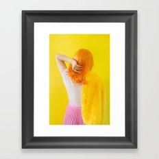 vivian as me Framed Art Print