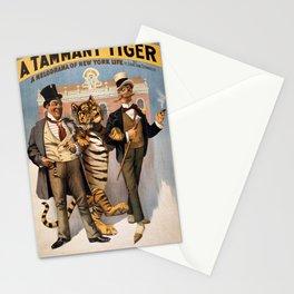 Vintage Poster - A Tammany Tiger Stationery Cards