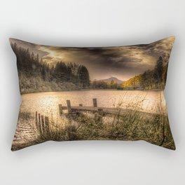 Loch Ard at Sunset Rectangular Pillow