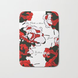 Floral | The Path is There Bath Mat