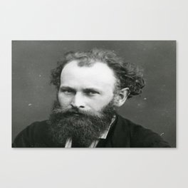 Portrait of Manet by Nadar Canvas Print