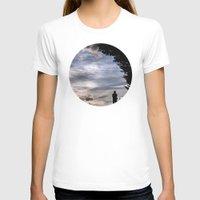 fairies T-shirts featuring Photographing Fairies by unaciertamirada