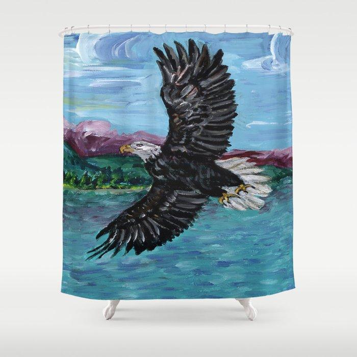 Soar Like An Eagle Shower Curtain