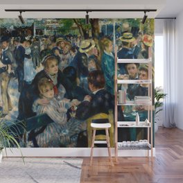 Renoir - Dance at Le Moulin de la Galette Wall Mural