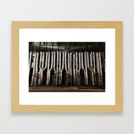 A series of tubes Framed Art Print