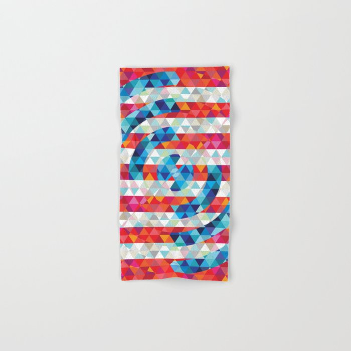 Abstract America Hand & Bath Towel