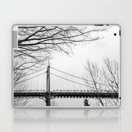Architectural shot of St. Johns Bridge in Portland Laptop & iPad Skin
