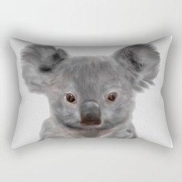 Koala Print, Cute Baby Koala Photo, Australian Animals Photo, Nursery Animals Wall Art Rectangular Pillow