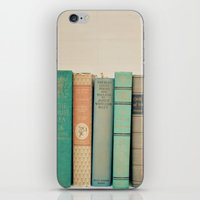 literary iPhone & iPod Skins featuring Literary Gems I by Laura Ruth