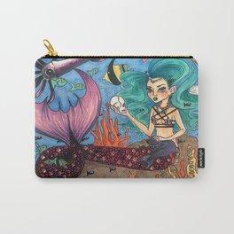 Dark Mermaid Carry-All Pouch