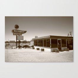 Route 66 - Buckaroo Motel 2012 Canvas Print