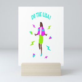 Do the Lisa, Saved by the Bell Mini Art Print