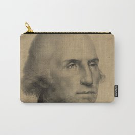 Vintage George Washington Portrait Illustration Carry-All Pouch
