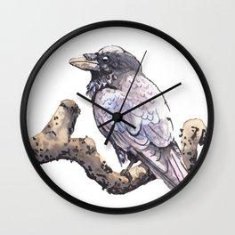 Raven Branch Wall Clock