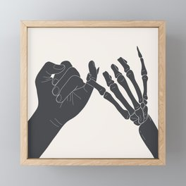 Unbroken Promises I Framed Mini Art Print