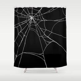 Spiderweb Shower Curtain
