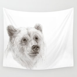Grizzly :: A North American Brown Bear Wall Tapestry