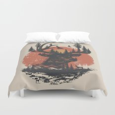 Look Deep Into Nature Duvet Cover