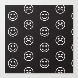 Happy Sad Canvas Print