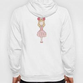 Sleeping Fan Girl - Pink Hoody