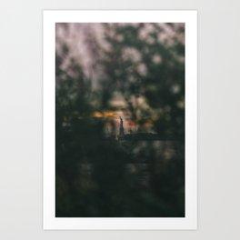 Torchlight Art Print