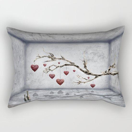 Der alte Liebesbaum  Rectangular Pillow