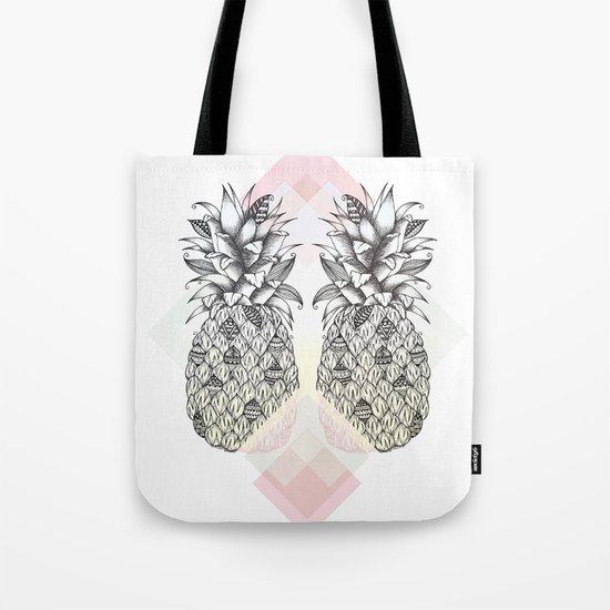 Tropical - Pink Tote Bag