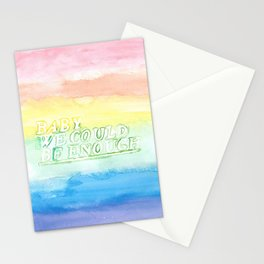 We could be enough Stationery Cards