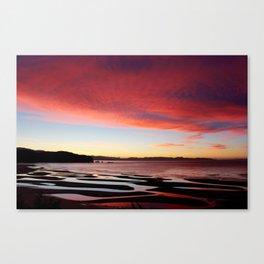 Abel Tasman Sunset, NZ Canvas Print