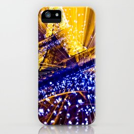 Supernova Eiffel iPhone Case