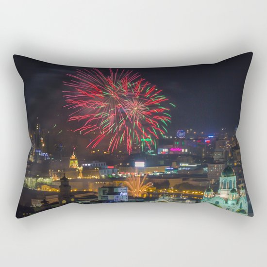 Firework collection 2 Rectangular Pillow