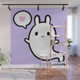 Cutie Bunny Ghost 02 Wall Mural