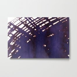 scruffily cross hatched Metal Print