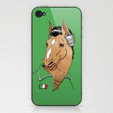 Italian Stallion iPhone & iPod Skin
