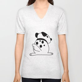 Doggie Dot Unisex V-Neck