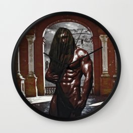 In the Shadow of Lust Fx  Wall Clock