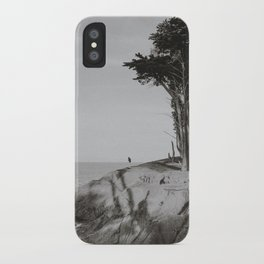 COYOTE POINT VI (B+W) iPhone Case